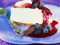 Joghurtcreme-Torte mit Heidelbeeren Rezept