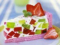 Joghurttorte mit Obst
