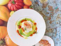 Kabeljau mit frittierten Tomaten Rezept