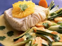 Kabeljau mit Gemüse Rezept