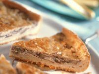 Käse-Champignon-Tarte Rezept