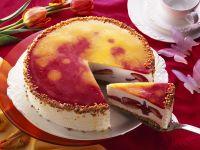 Käse-Erdbeerkuchen Rezept