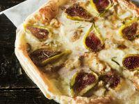 Käse-Feigen-Tarte mit Rosmarin Rezept