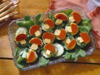Käse-Gurkenhäppchen Rezept