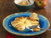 Käse-Kartoffel-Pfanne mit Zwiebel-Apfel-Dip Rezept