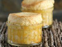 Käse-Knoblauch-Soufflees