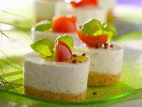 Käse-Knoblauch-Törtchen Rezept