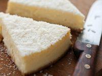 Käse-Kokoskuchen Rezept