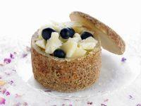 Käse mit blauen Trauben Rezept