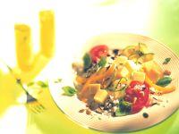 Käse-Reis-Salat Rezept