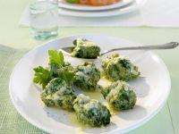 Käse-Spinat-Nocken auf italienische Art (Malfatti) Rezept