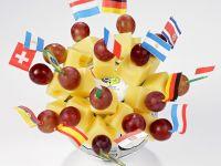 Käse-Trauben-Spießchen Rezept