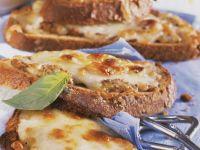Käsebrote vom Grill Rezept