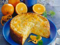 Käsekuchen mit Orangen Rezept