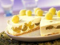 Käsekuchen mit Trauben Rezept