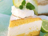 Käsesahne mit Zitrone