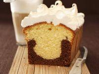 Kaffee-Marmorkuchen mit Baiser Rezept