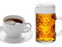Kaffee macht älter, Bier hält jung