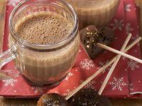 Kakao mit Schoko-Lolli Rezept
