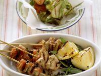 Kalb-Zucchini-Spieße Rezept
