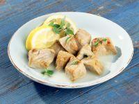 Kalbfleisch in Zitronensauce Rezept