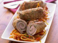 Kalbfleischrouladen auf italienische Art Rezept