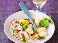 Kalbsfilet in Speckhülle mit Pfifferlingen und Broccoli Rezept