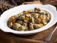 Kalbsgulasch mit Karotten und Vanille Rezept