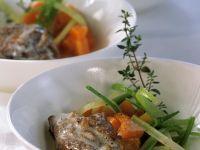 Kalbshaxe mit Gemüse Rezept
