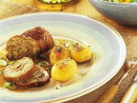 Kalbsrouladen mit Kartoffeln Rezept