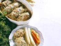 Kalbsrouladen mit Kräutern und Gewürzgurken Rezept
