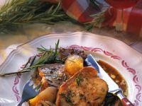 Kalbsschnitzel mit Schalottensauce Rezept