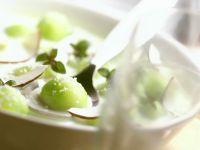 Kalte Kokossuppe mit Gurke Rezept