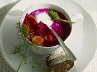 Kalte Rote Bete-Suppe Rezept