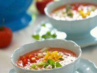 Kalte spanische Gemüsesuppe (Gazpacho) Rezept