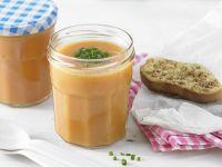 Kalte Süßkartoffelsuppe mit Tomaten Rezept