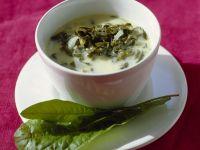 Kalte Suppe vom Sauerampfer Rezept