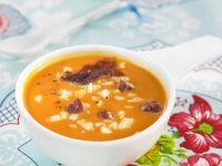 Kalte Tomatensuppe nach spanischer Art
