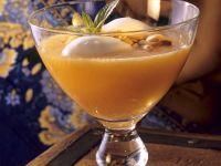 Kaltschale von Melone Rezept