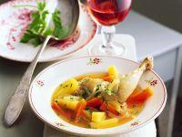 Kaninchen-Gemüseeintopf Rezept