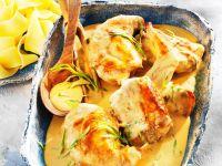 Kaninchen in cremiger Senfsoße Rezept