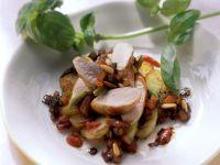 Kaninchenfilet mit Bratkartoffelsalat Rezept