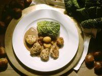 Kaninchenrücken mit Weinsauce Rezept