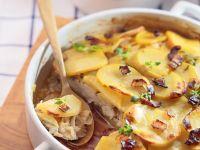 Kaninchentopf mit Porree und Kartoffeln Rezept