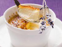 Karamellisierte Creme mit Fenchel und Lavendel Rezept