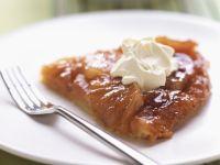 Karamellisierter Ananaskuchen (Tarte Tatin) Rezept