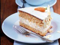 Karotten-Mandel-Torte Rezept