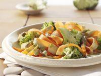 Karotten-Tagliatelle mit Kräutersauce Rezept