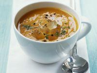 Karottensuppe mit Kardamom und Aloe-Vera-Filet Rezept