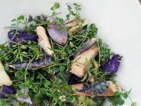 Kartoffe-Kräutersalat mit Fisch Rezept